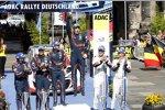 Daniel Sordo (Hyundai), Marc Marti (Hyundai), Thierry Neuville (Hyundai), Nicolas Gilsoul (Hyundai) und Andreas Mikkelsen (Volkswagen II)