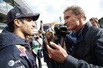 Daniel Ricciardo (Red Bull) und David Coulthard