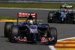 Jean-Eric Vergne (Toro Rosso) und Kevin Magnussen (McLaren)