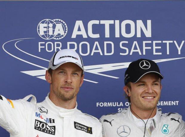 Jenson Button, Nico Rosberg