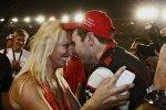 Will Power (Penske) und Ehefrau Liz
