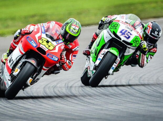 Cal Crutchlow, Scott Redding