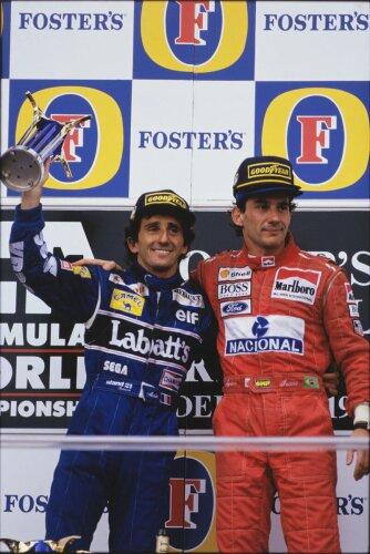 Alain Prost McLaren McLaren Mercedes F1Williams Williams F1 Team F1 ~Alain Prost ~