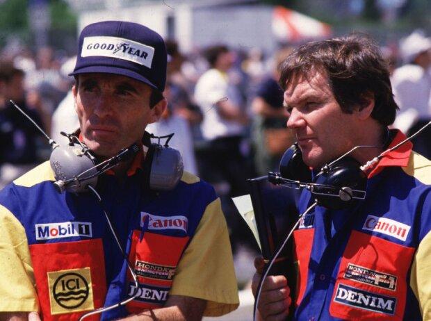 Frank Williams, Patrick Head 1986