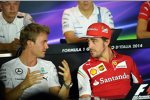 Nico Rosberg (Mercedes) und Fernando Alonso (Ferrari)