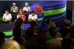 FIA-Pressekonferenz am Donnerstag in Monza 2014