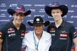 Daniil Kwjat (Toro Rosso) und Jean-Eric Vergne (Toro Rosso)