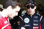 Pastor Maldonado (Lotus) und Jules Bianchi (Marussia)