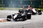 Esteban Gutierrez (Sauber) und Jules Bianchi (Marussia)