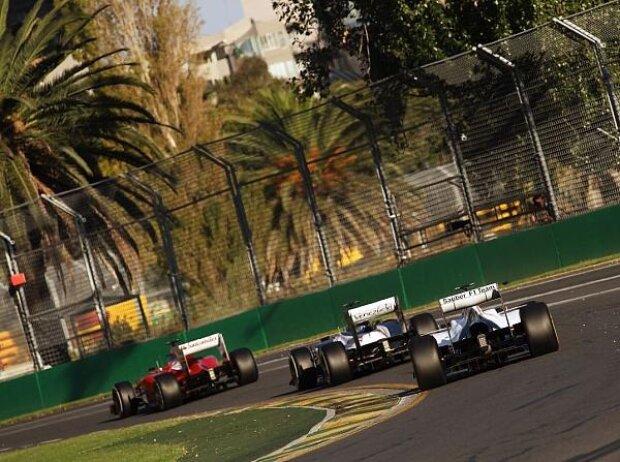 Fernando Alonso, Pastor Maldonado, Sergio Perez
