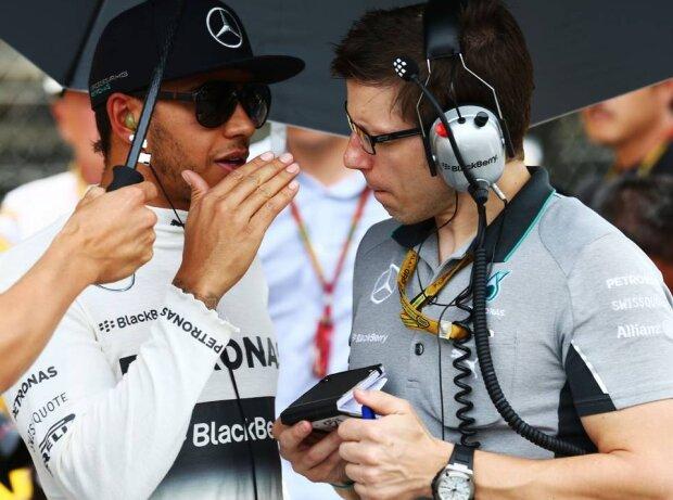Lewis Hamilton, Peter Bonnington