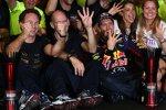 Sebastian Vettel (Red Bull) und Adrian Newey