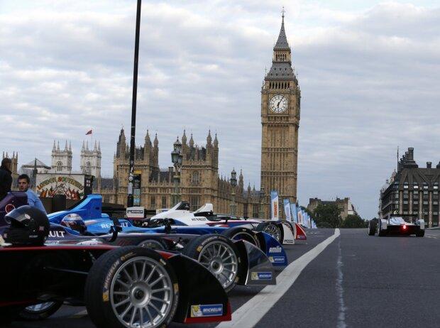 Formel E, London