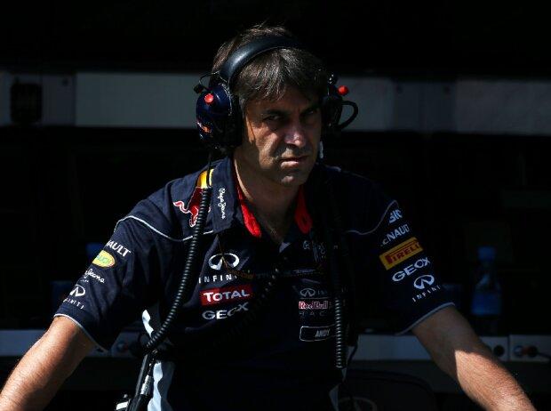 Andy Damerum, Leitender Renningenieur Red Bull