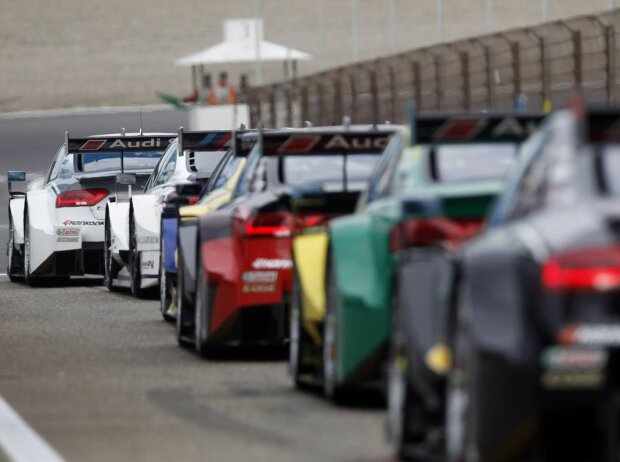 Boxengasse Audi BMW Zandvoort