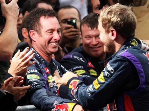 Sebastian Vettel, Kenny Handkammer