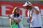 Susie Wolff und Alexander Wurz (Toyota)