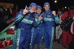Wolf Henzler, Bryan Sellers und Marco Holzer (Porsche)