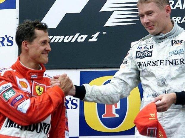 Michael Schumacher, Mika Häkkinen