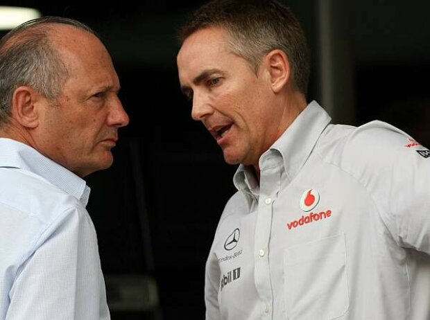 Martin Whitmarsh (Teamchef), Ron Dennis