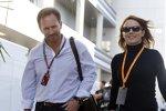 Christian Horner mit Lebensgefährtin Geri Halliwell