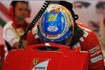 Fernando Alonso (Ferrari) und  (Marussia)