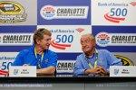 Zwei NASCAR-Legenden unter sich: Bill Elliott und Rex White