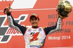 Marc Marquez feiert seinen zweiten WM-Titel