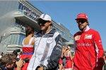 Felipe Massa (Williams) und Fernando Alonso (Ferrari)