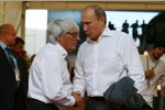 Bernie Ecclestone und Wladimir Putin