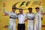 Lewis Hamilton (Mercedes) gewinnt in Russland vor Nico Rosberg (Mercedes) und Valtteri Bottas (Williams)