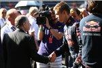 Jean Todt und Daniil Kwjat (Toro Rosso)