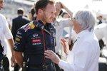 Christian Horner und Bernie Ecclestone