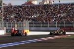 Adrian Sutil (Sauber) und Romain Grosjean (Lotus)