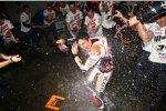Marc Marquez feiert seinen WM-Titel