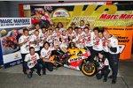 Marc Marquez und seine Honda-Crew