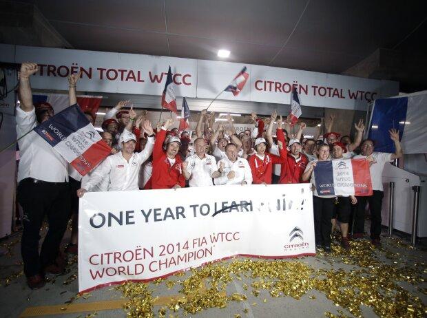 Citroen, WTCC, WM, Titel, 2014