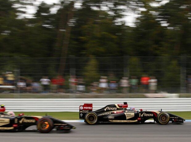 Romain Grosjean, Pastor Maldonado, Bremsscheibe