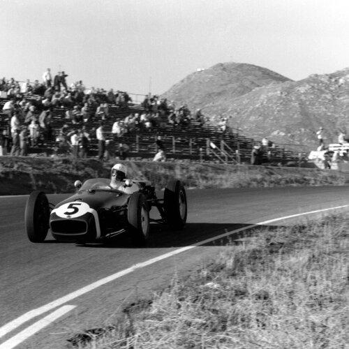Lotus Lotus F1 Team F1 ~Strling Moss (Lotus) in Riverside 1960~