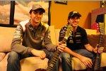 Esteban Gutierrez (Sauber) und Sergio Perez (Force India)