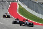 Esteban Gutierrez (Sauber), Jenson Button (McLaren) und Sebastian Vettel (Red Bull)