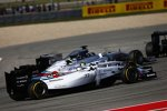 Lewis Hamilton (Mercedes), Felipe Massa (Williams) und Valtteri Bottas (Williams)
