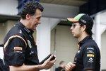 Federico Gastaldi und Sergio Perez (Force India)