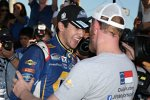 Chase Elliott und Owner Dale Earnhardt Jr.