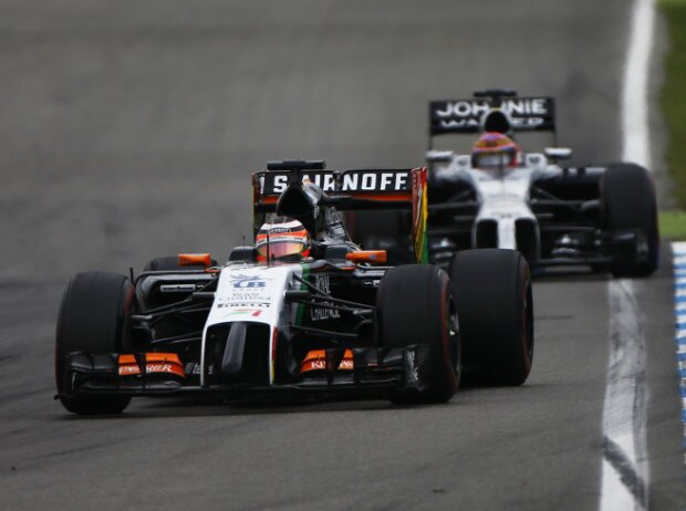 Nico Hülkenberg, Jenson Button