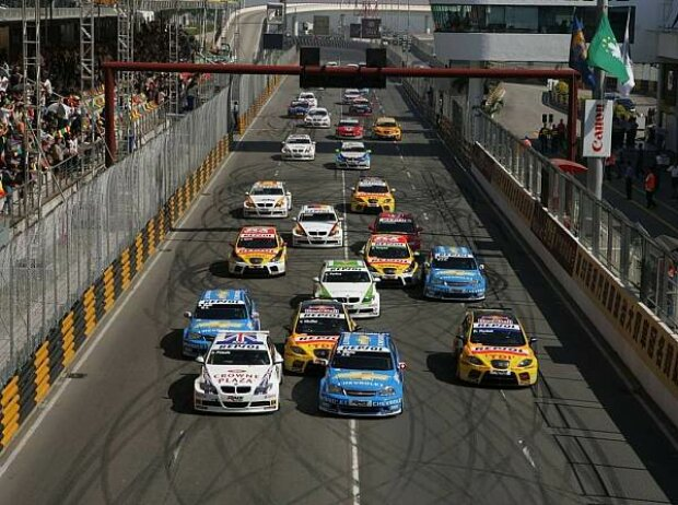 WTCC Start in Macao