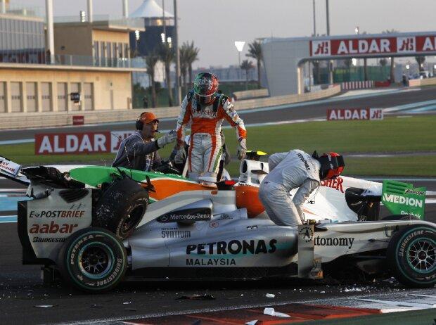 Michael Schumacher, Vitantonio Liuzzi