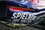 Toro Rosso macht Werbung für den Grand Prix von Österreich 2015