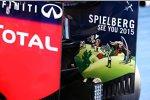 Werbung für den Grand Prix von Österreich 2015 auf dem Red Bull RB10