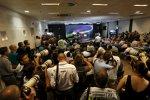 Riesenandrang bei der FIA-Pressekonferenz